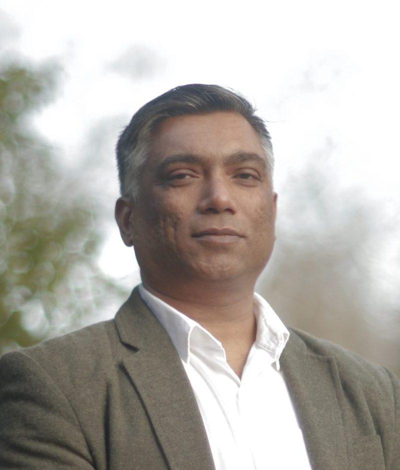 Portrait of Avinash Bansode
